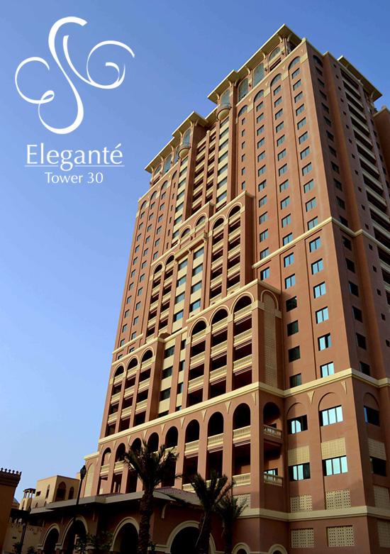 Burj Elegante, Tower 30, Porto Arabia, The Pearl Qatar